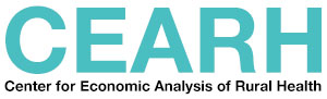 Center for Economic Analysis of Rural Health logo