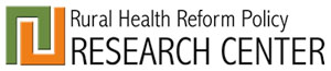 North Dakota and NORC Rural Health Reform Policy Research Center logo