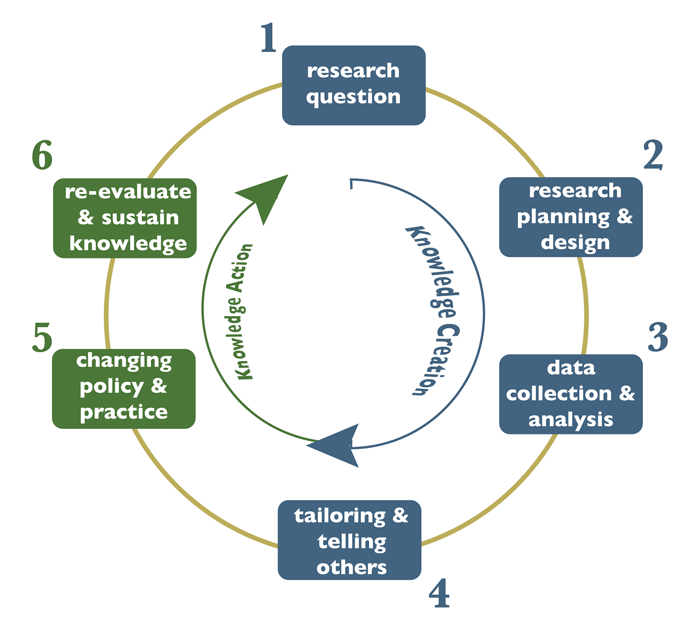 Knowledge Translation Process figure